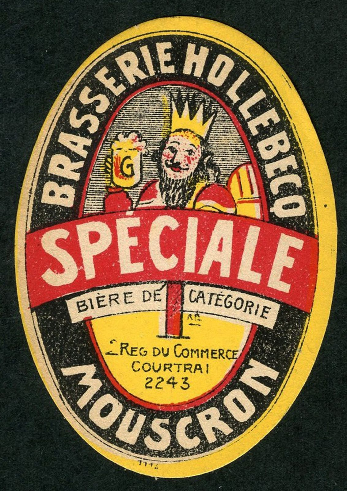 Brasserie Hollebeco Mouscron Rotulos De Cerveja Cerveja Estruturas De Madeira