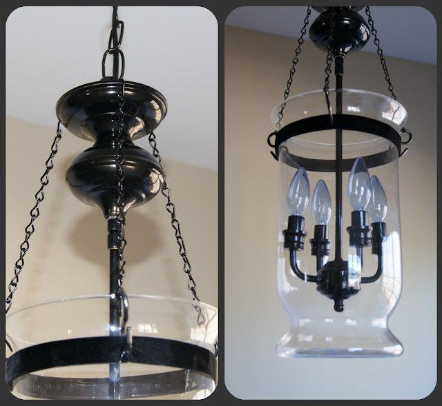 Pottery Barn Light Fixture: DIY Pottery Barn Light Fixture Tutorial
