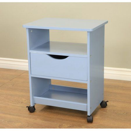 Home Rolling Cart With Drawers End Tables Table