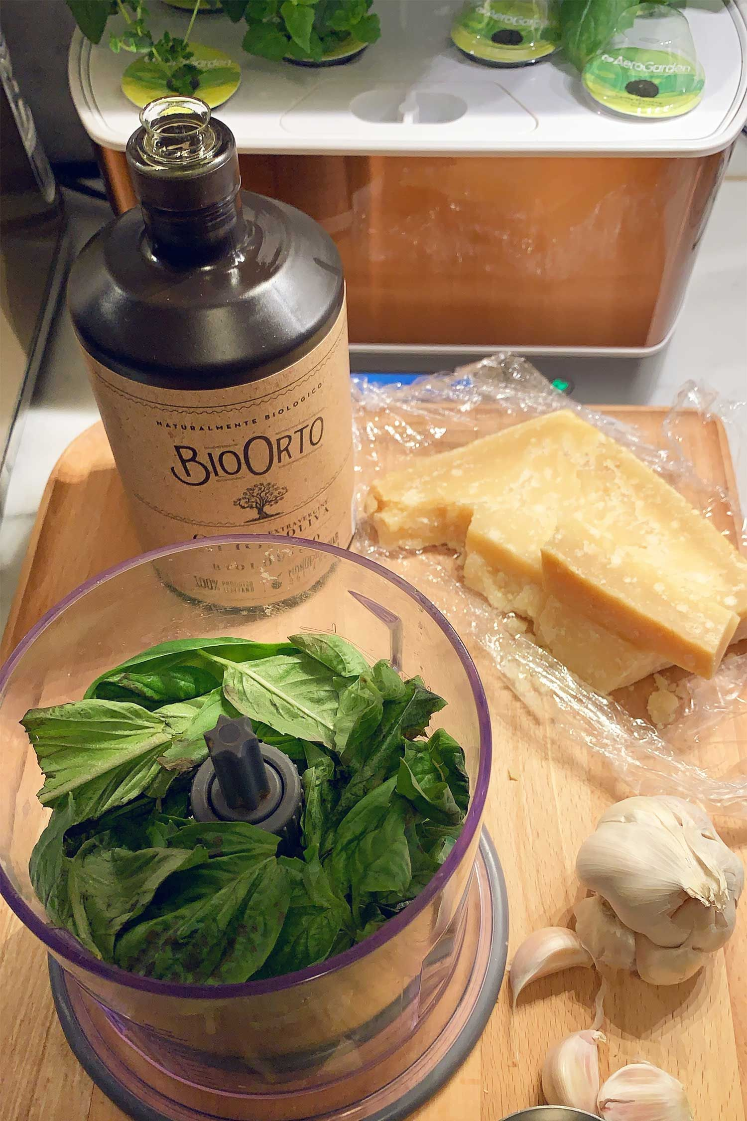 Aerogarden Genovese Basil Pesto Recipe!