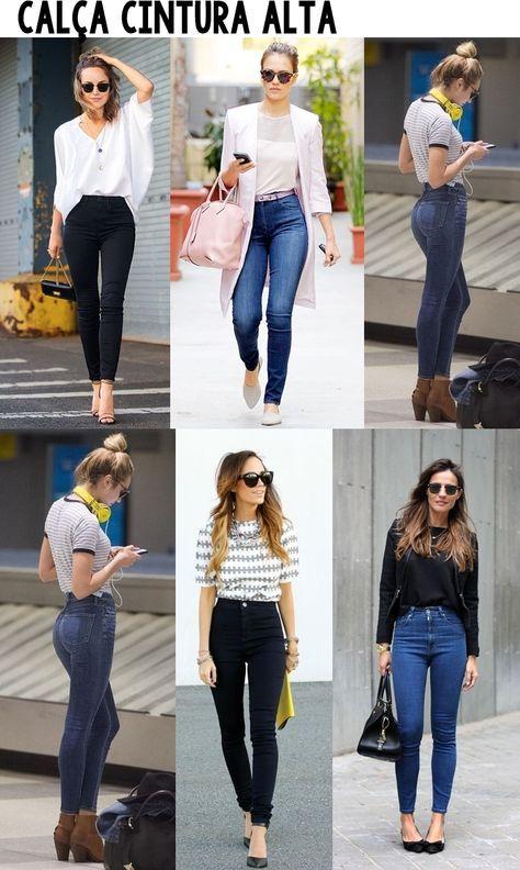 25ef4461e Como usar: Calça Skinny de cintura alta | My Closet | Fashion ...