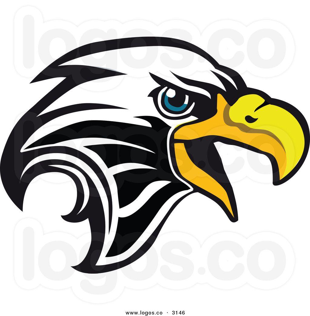 Eagle Company Logo Royalty Free Vector of a Bald Eagle