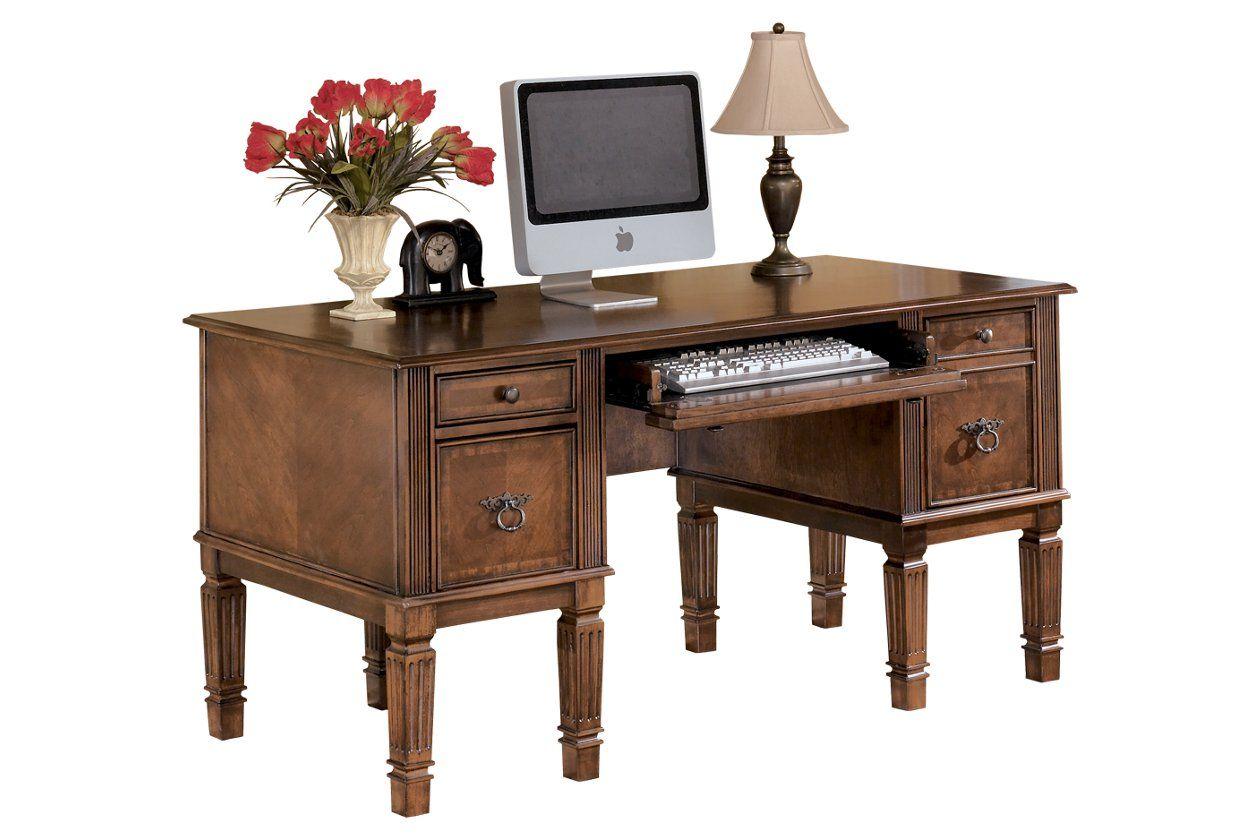 Hamlyn 60 Home Office Desk Ashley Furniture Homestore Home Office Storage Modern Home Office Desk Home Office Desks