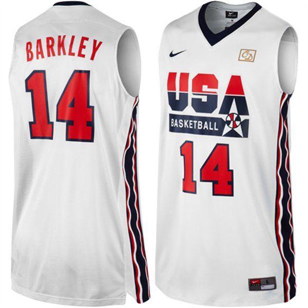 6209126bb828 Charles Barkley Dream Team Jersey