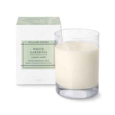Williams Sonoma Candle White Gardenia Williams Sonoma White