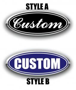 Custom Overlay Ford Emblem Designs Edge Overlays Decals Vehicles