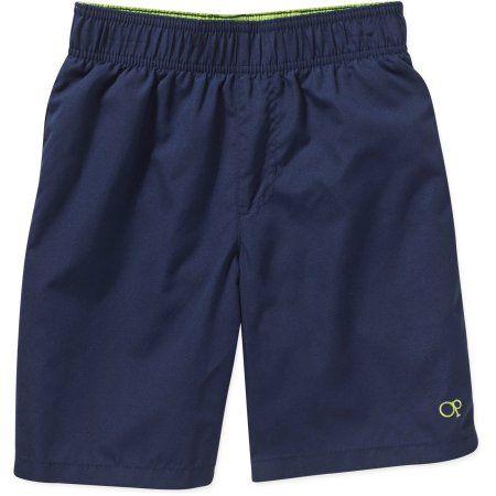 310740ea72 OP Boys' Solid Swim Shorts, Size: 4/5, Blue | Products | Boys swim ...