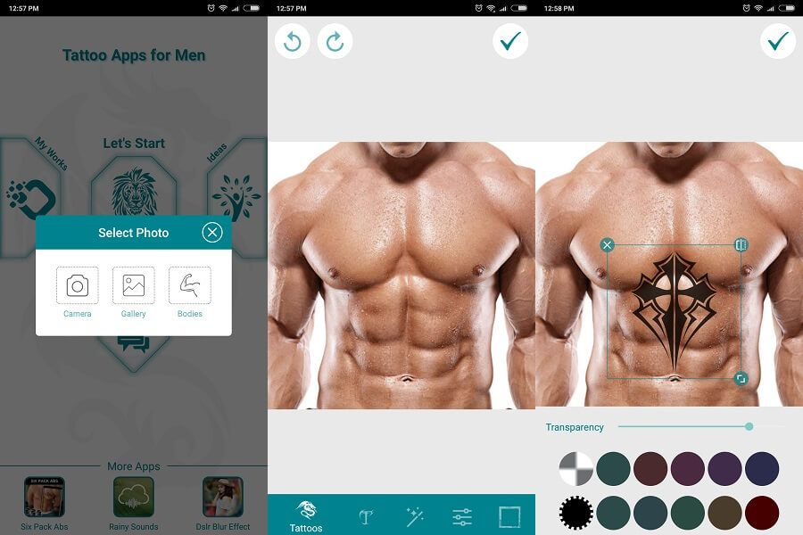 5 Best Tattoo Design Apps To Create Your Own Tattoo Techuntold In 2020 Tattoo Design Apps Best Tattoo Designs Create Your Own Tattoo