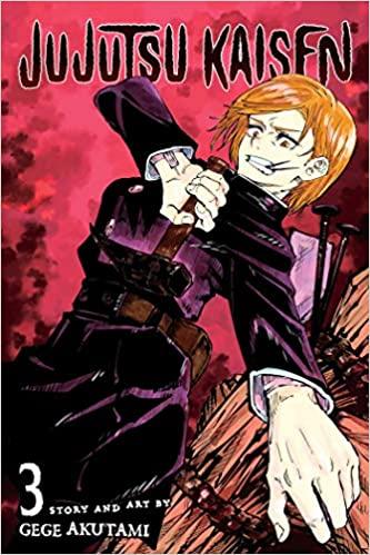 Amazon Com Jujutsu Kaisen Vol 3 3 9781974710041 Akutami Gege Books Manga Covers Jujutsu Anime