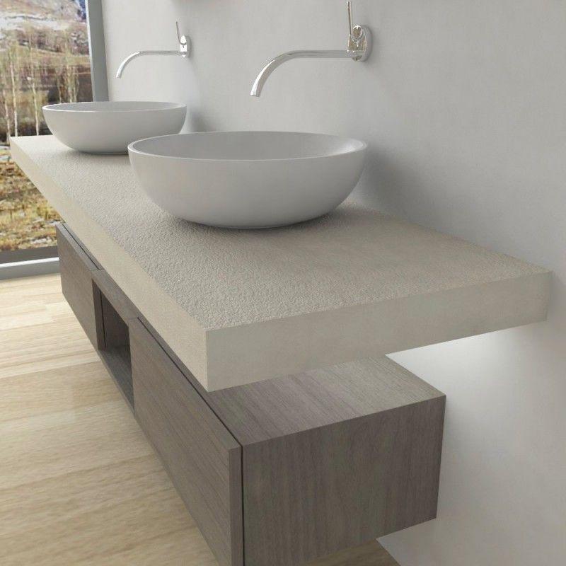 Mobili bagno Mensola per lavabo con LED nel 2020