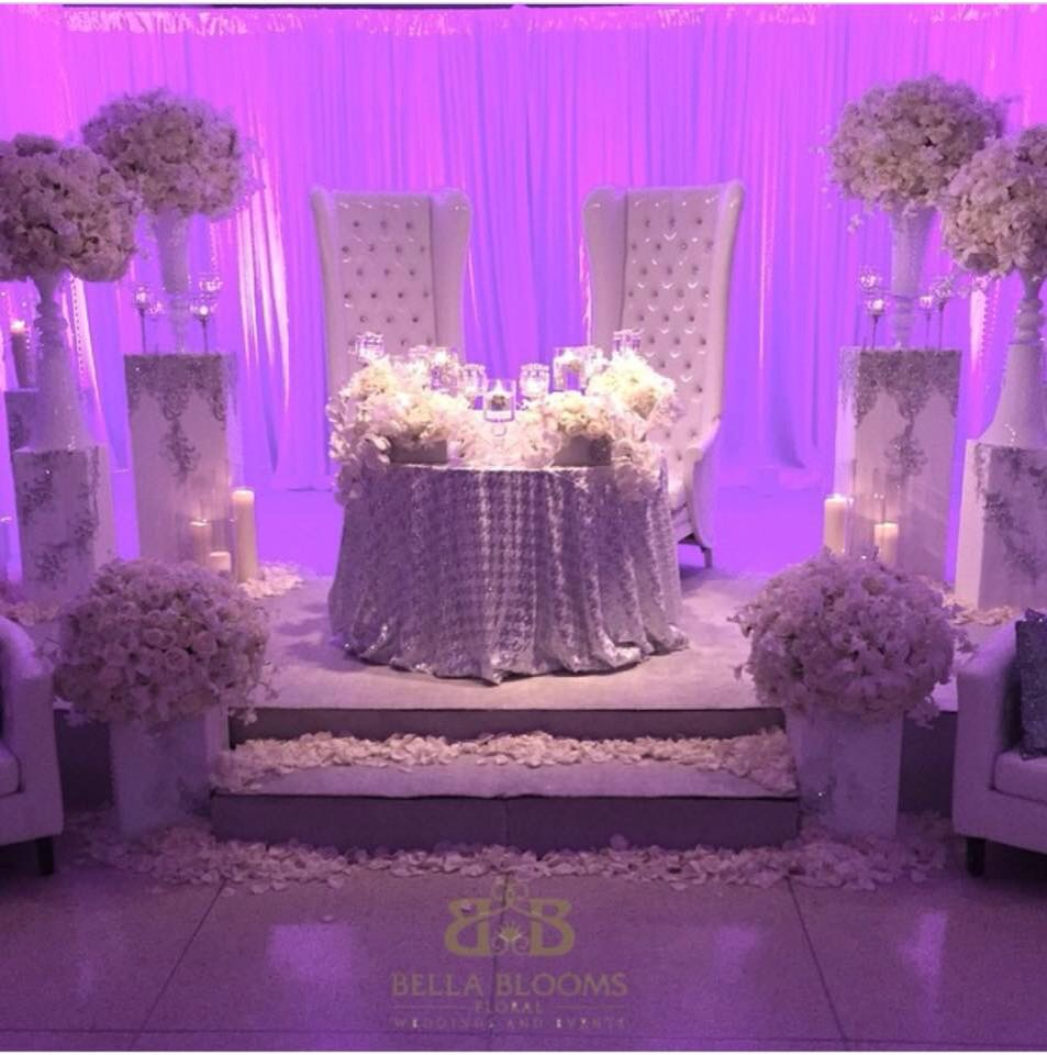 Nigerian wedding stage decoration  Pin by Kia Bowman on kia s pins  Pinterest  Wedding Wedding