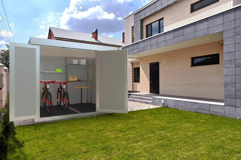 Deluxe Line DesignNebengebäude und Gartenhaus aus