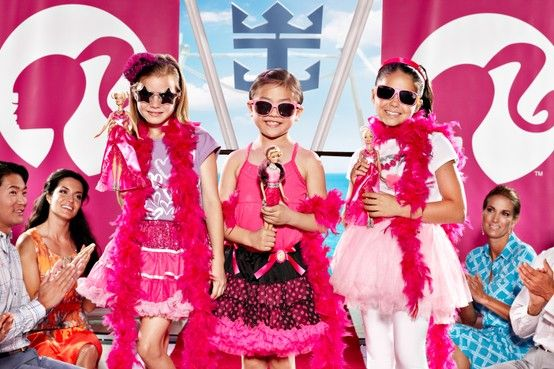From pier to #catwalk, Royal Caribbean is full of surprises for your little doll. #Barbie. The Barbie Experience is available on select Royal Caribbean Cruises. www.viptrvl.com