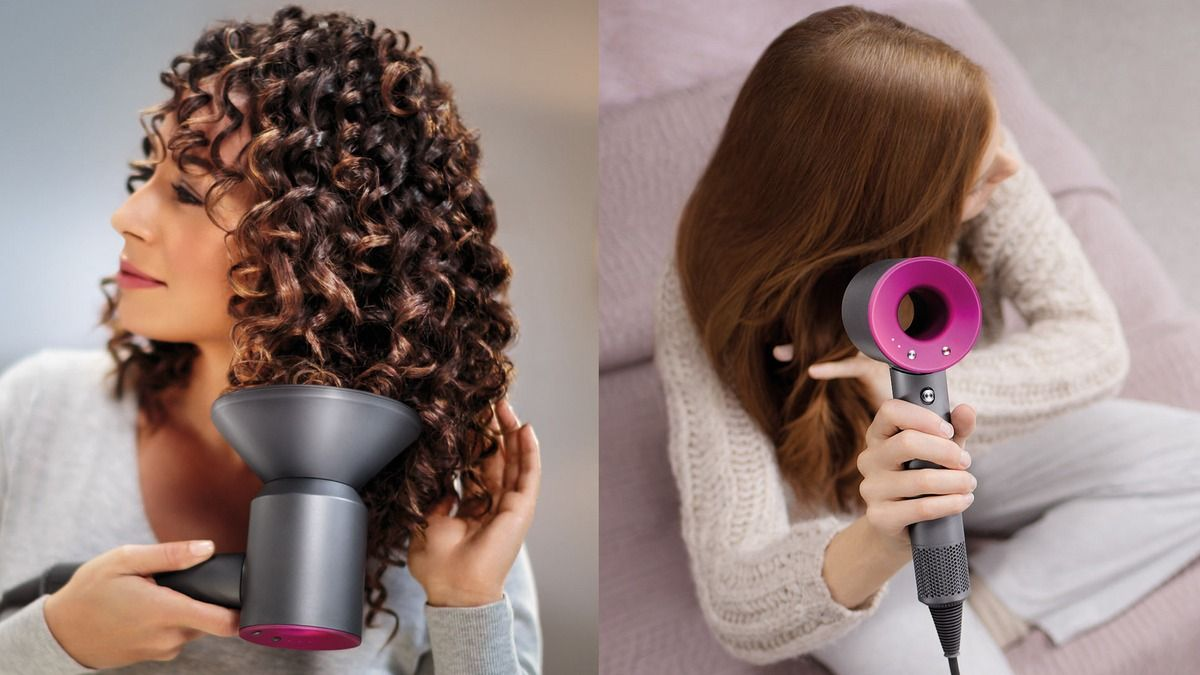 Dyson Made A Hair Dryer And It S Kind Of Stunning And Expensive Best Hair Dryer Cool Hairstyles Curly Hair Styles