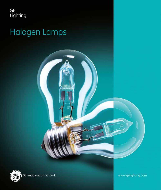Ge Lighting Halogen Lamps Imagination At Work Www