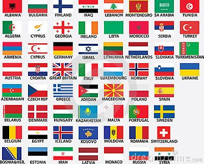 National Flags Of All European Countries World Flags With Names Flags Of The World Flag Of Europe