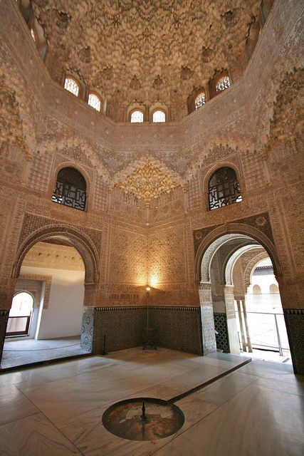 Alhambra Palace Hall of the Two sisters