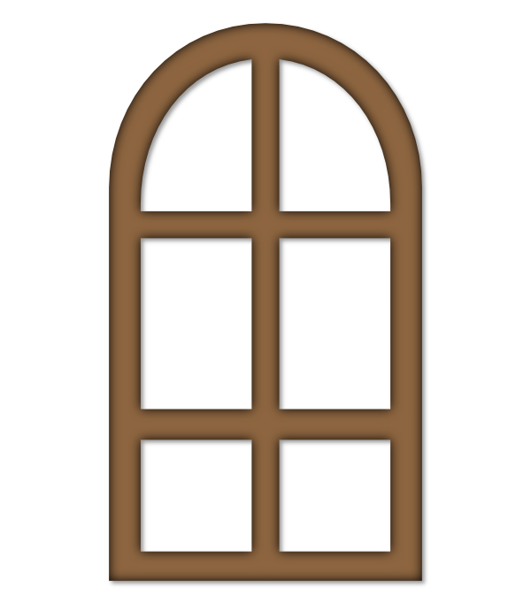 Ihm Arched Window Frames Window Postage Dies Svg