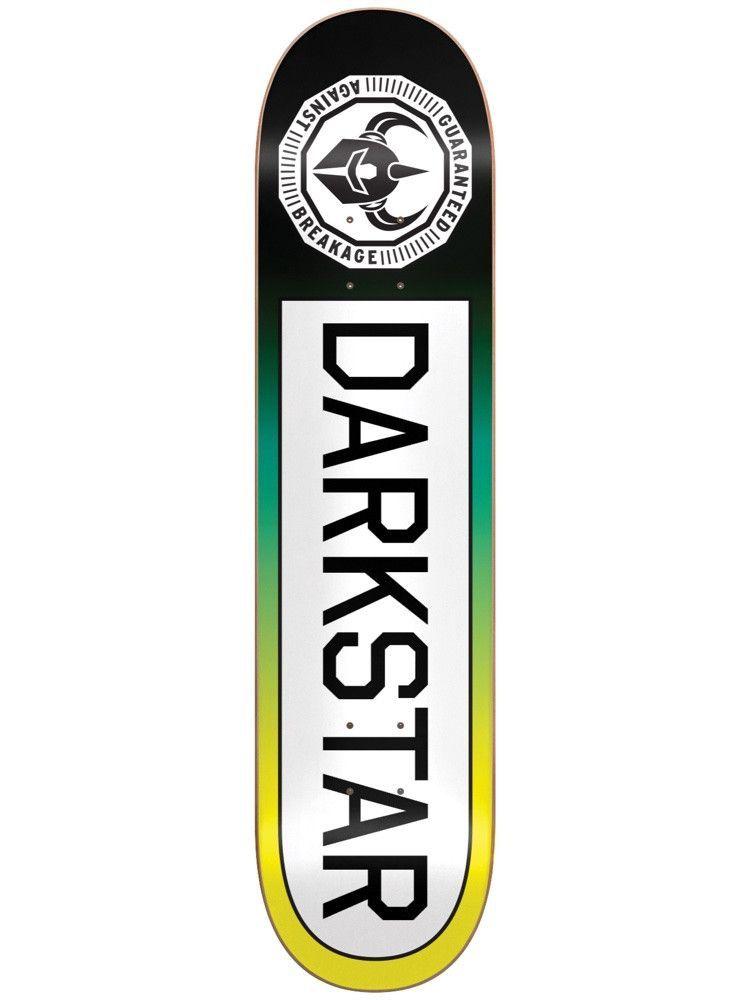 Darkstar Timeworks Yellow Fade 7 75 Skateboard Deck Skateboard