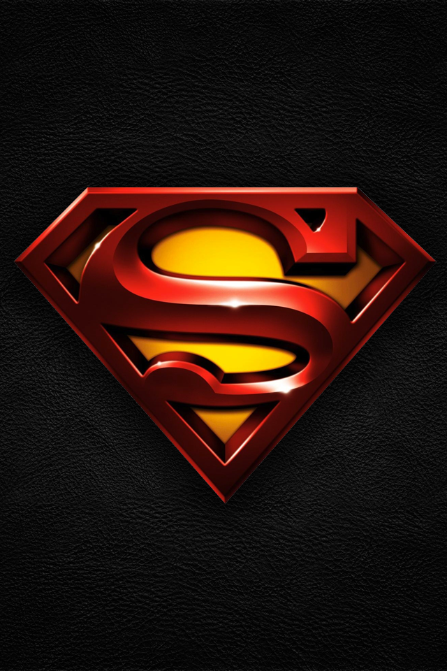 iOS ready wallpaper by guAsp Superman wallpaper
