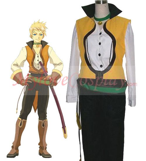 Cluedo Anime: Tales Of The Abyss Cosplay Guy Cheap Guy Cecil Outfit