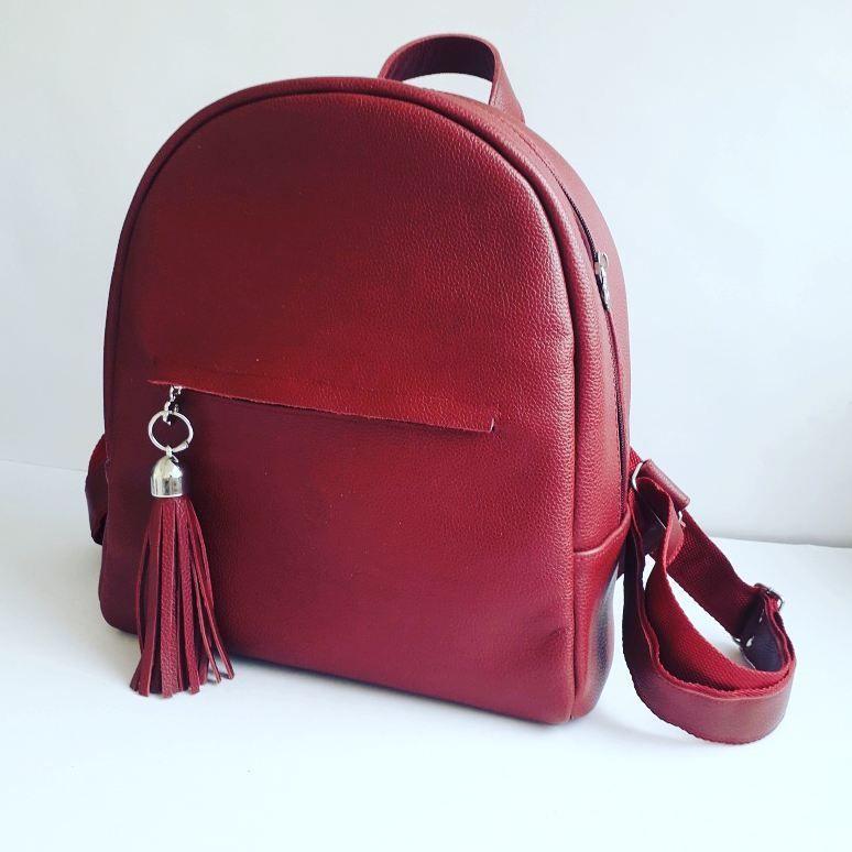 fc49989b155d Рюкзак из натуральной кожи. Удобный и практичный. Высота 30см ...