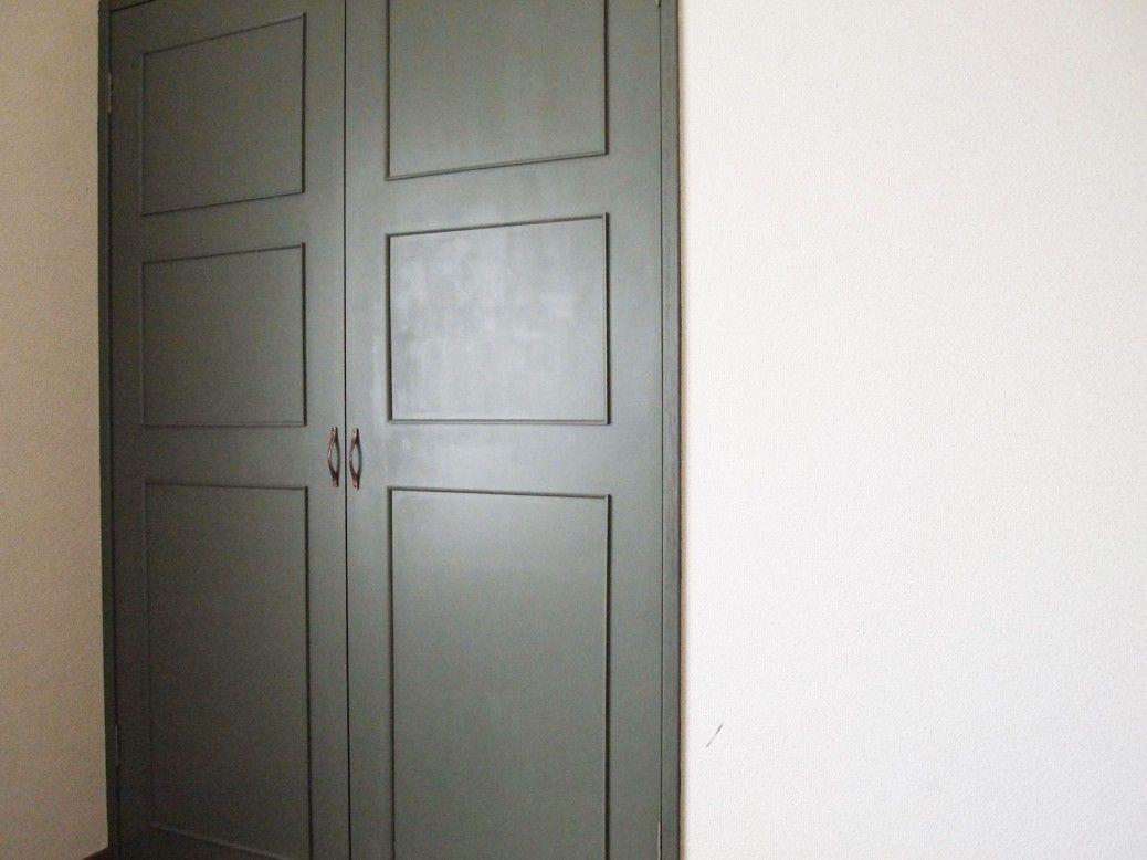 今日はdiyでドアの色をかえよう ペンキ塗装しよう 連載 ここち