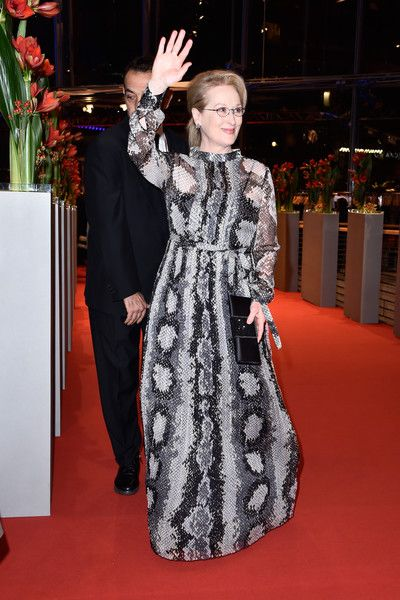 Meryl Streep attends the 'Hail, Caesar!' Premiere at the 66th Berlinale International Film Festival.