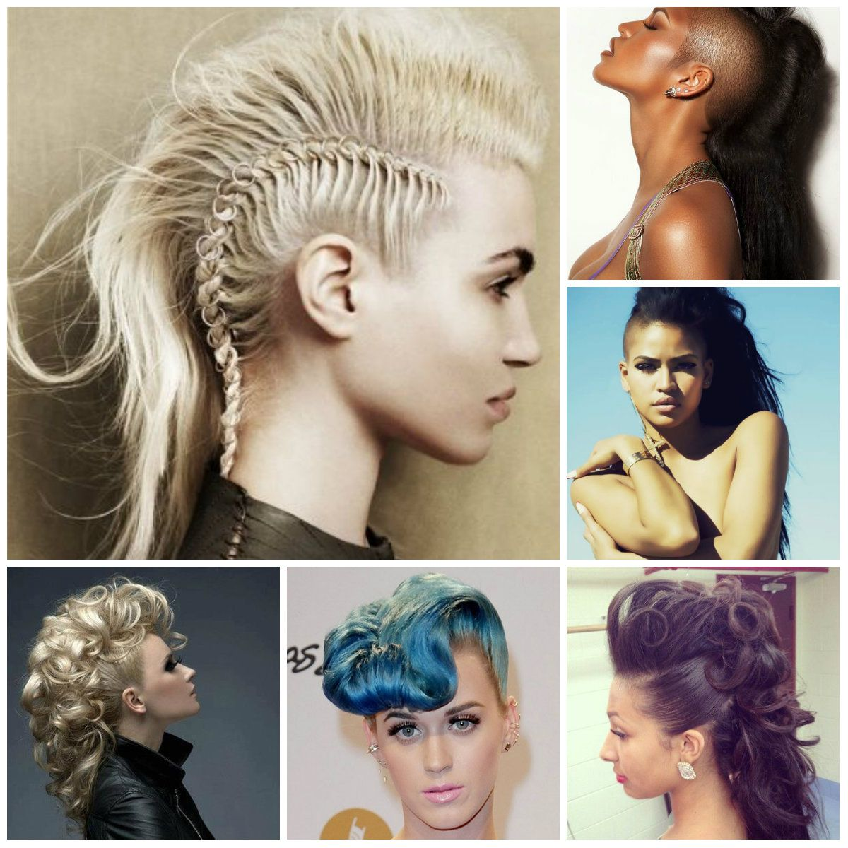 Mohawk hairstyle for long hair trendy hairstyles for