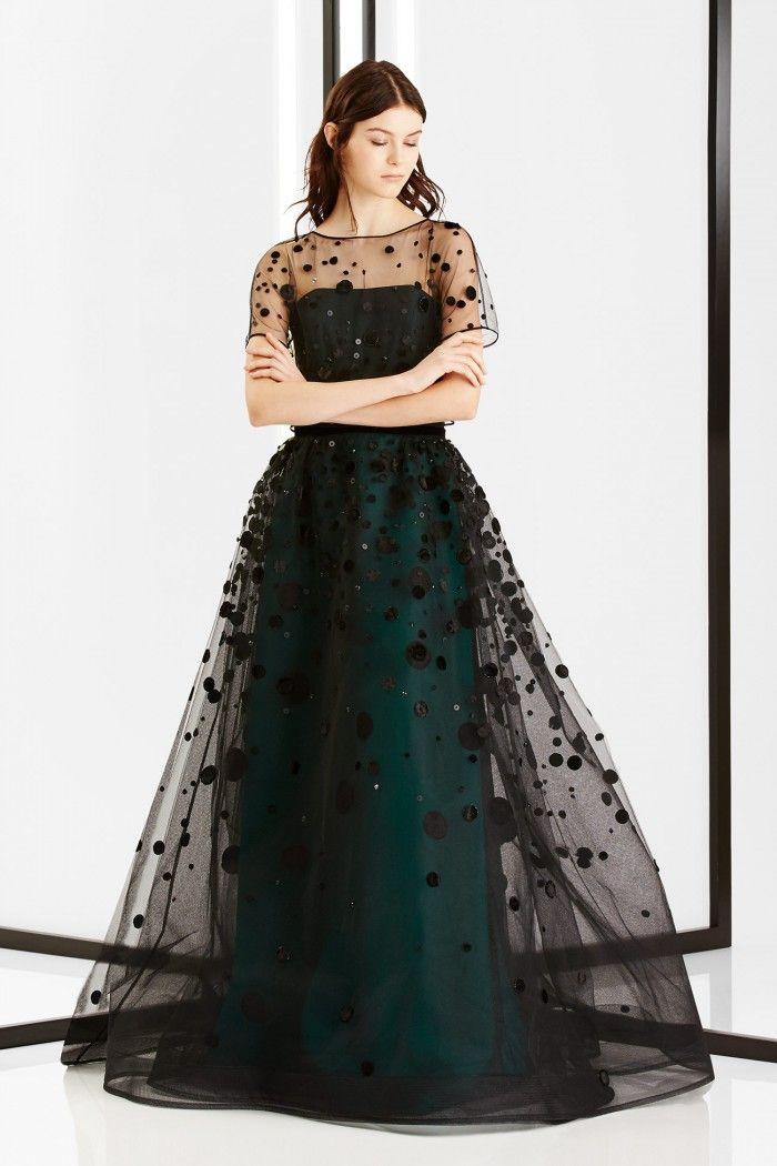 b5630b547 Carolina Herrera Pre Fall 2016  vestido  elegancia  modamadrinha  modafesta…