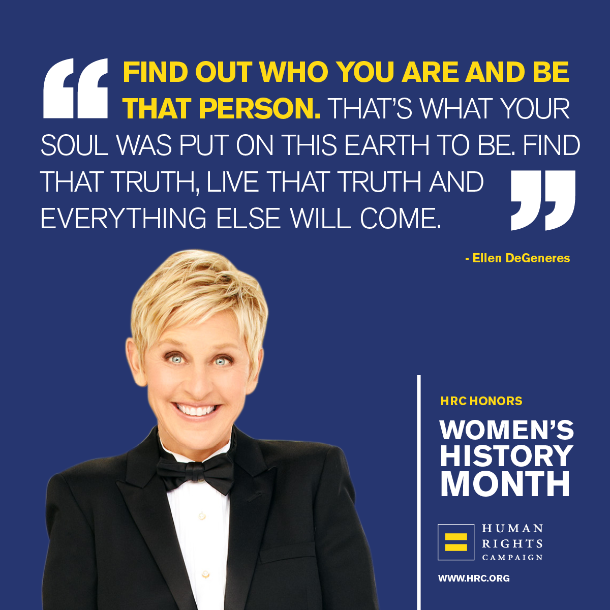 Ellen Degeneres An Lgbtq Icon And Role Model Has Led Our Struggle With Resilience And La Quotes By Famous People Ellen Degeneres Quotes Quotes About New Year