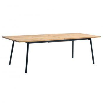 Bitta Dining Table Extendable Kettal Esstisch Holz Ausziehbar Esstisch Ausziehbar Gartentisch Holz Ausziehbar