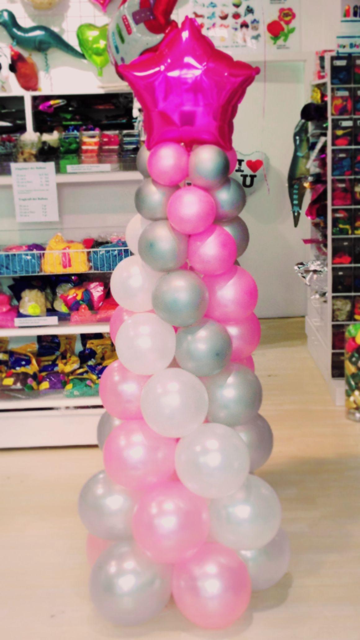 Pink Star Balloon Balloons Ballons Ballon Decoration