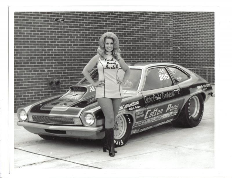 "Carol ""Bunny"" Burkett Ford Pinto"