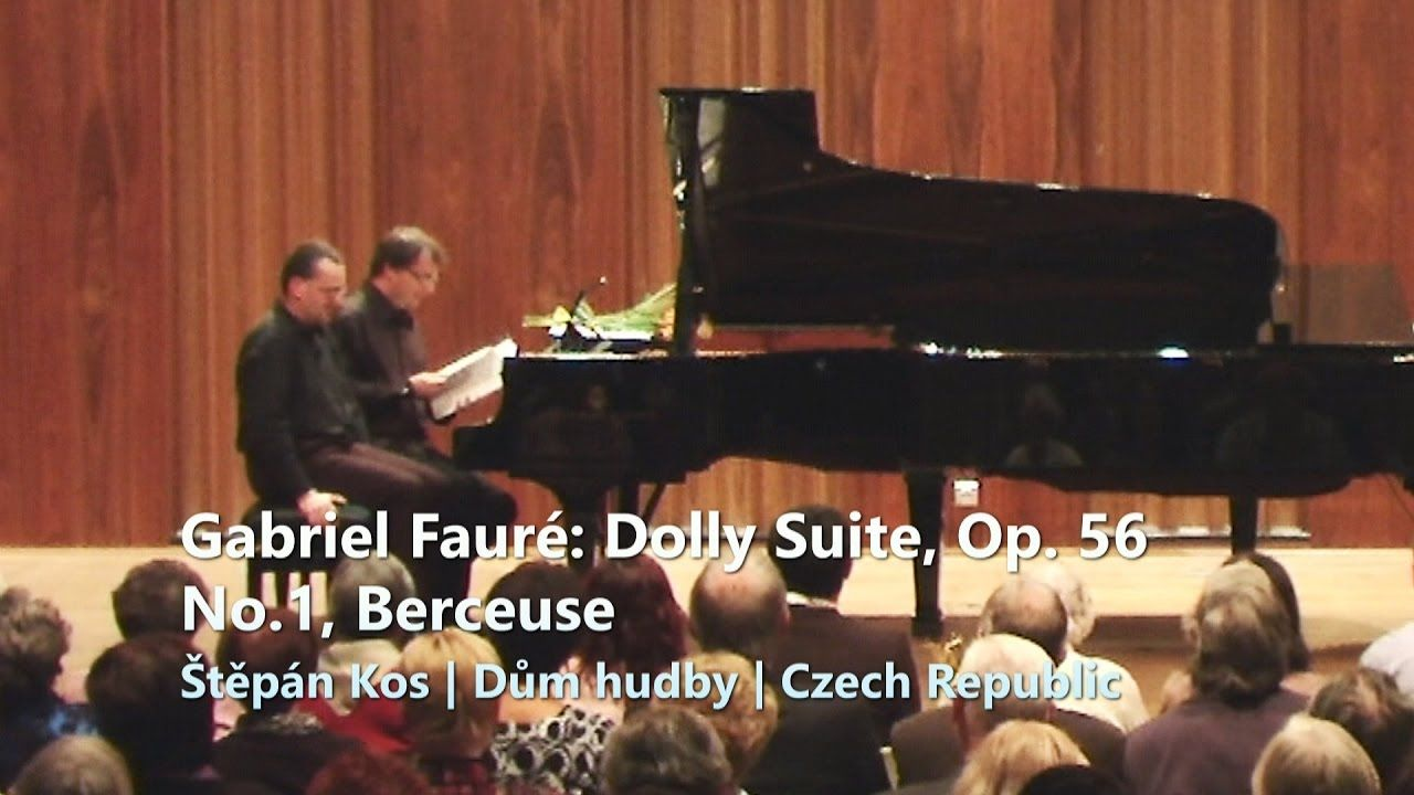 Dolly Suite Op. 56: Gabriel Fauré | No.1 Berceuse | č.1 | PianoKos
