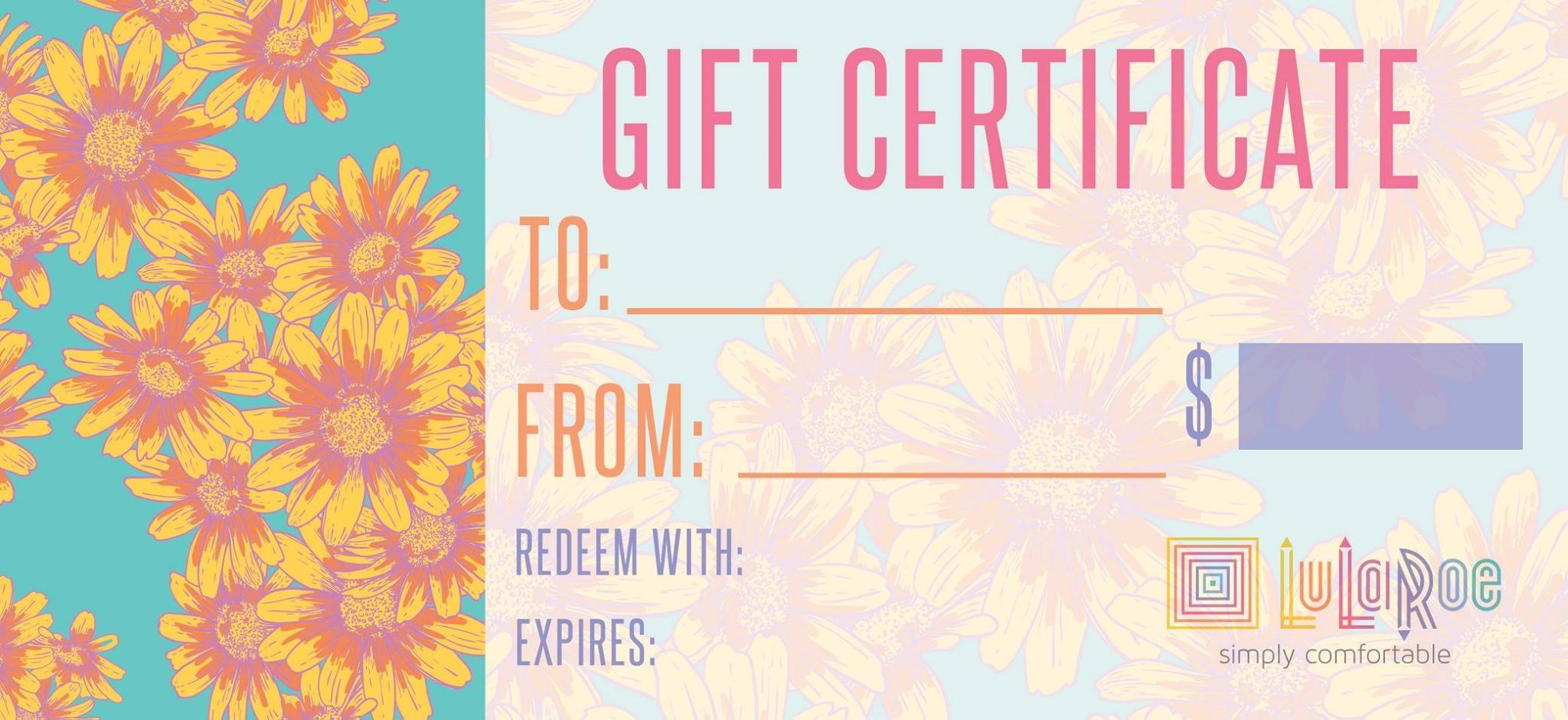 lularoe gift card gift certificate i want one from casey watkins