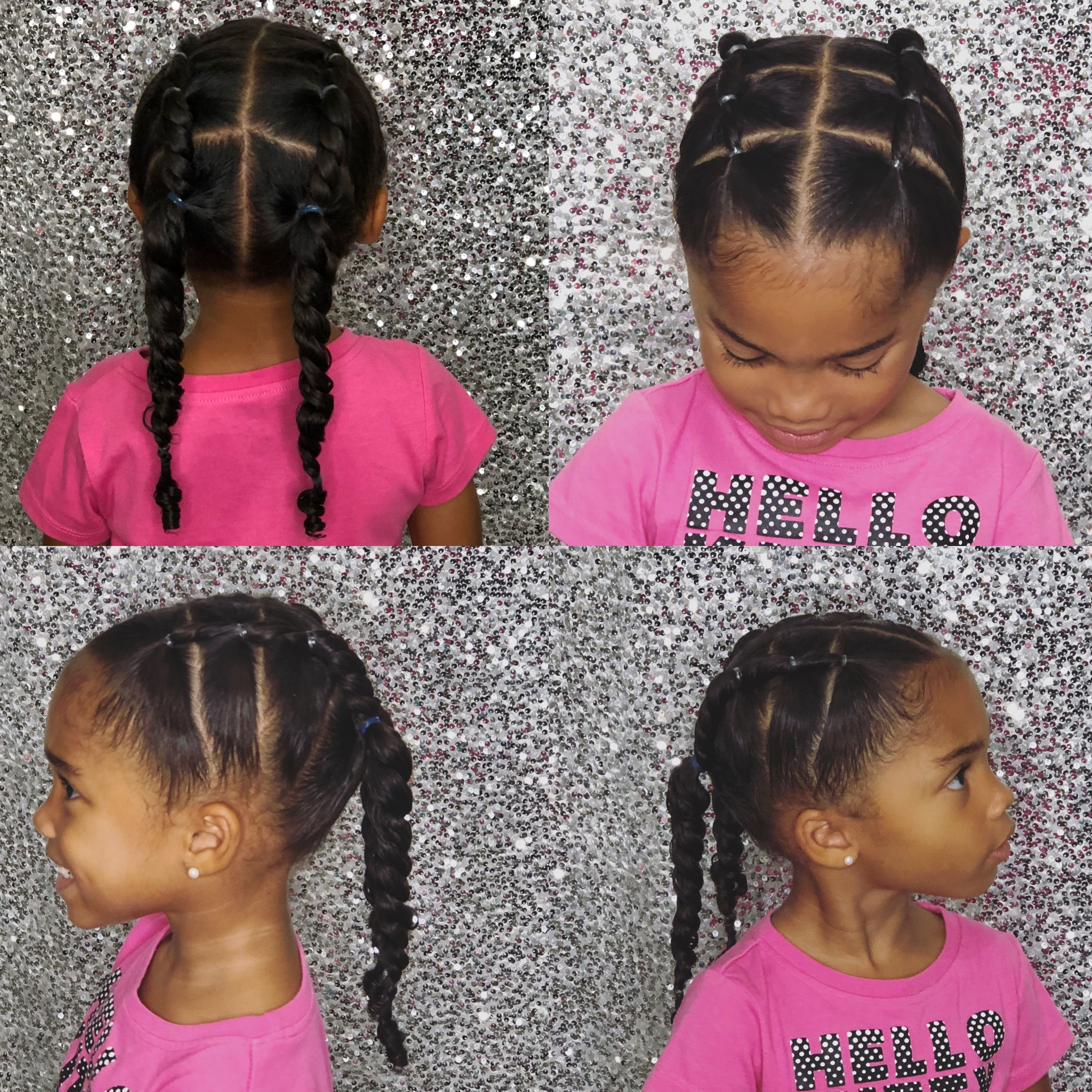 Easy Summer Hairstyle Toddlerhairstyle Kidshairstyle