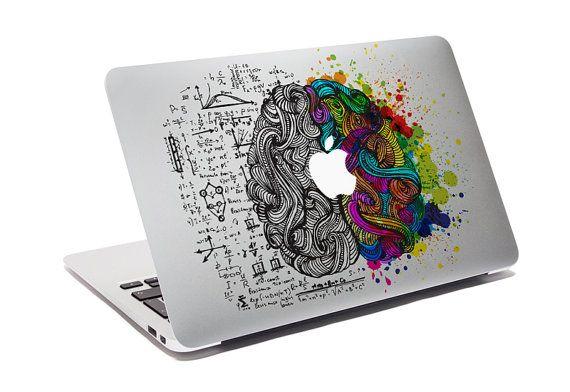 Macbook Decal Think Different Creative Sticker For Computer Think - Custom vinyl stickers macbook