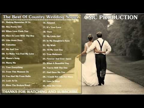 The Best Of Country Wedding Songs