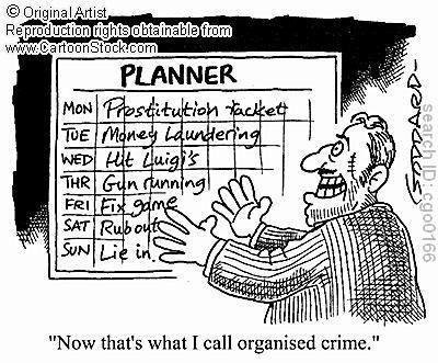 Organized crime :) #puns #funny #words #English | Puns ...