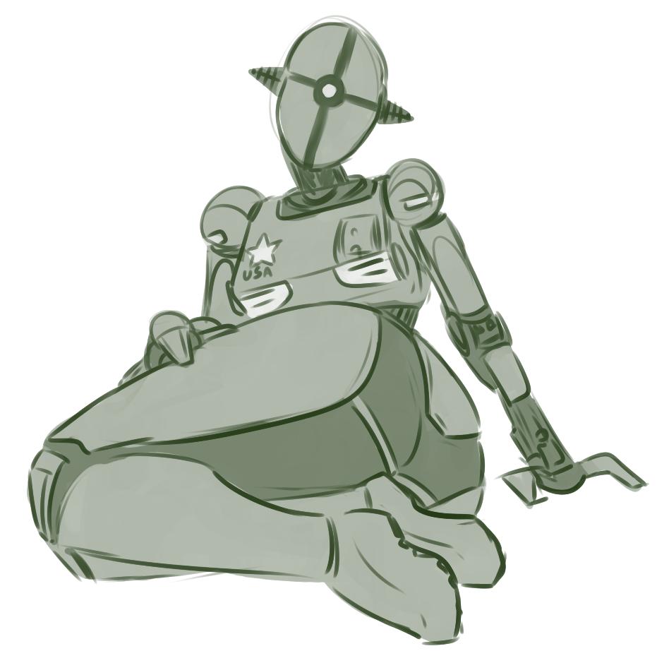Assaultron Fallout Fan Art Fallout Art Female Robot