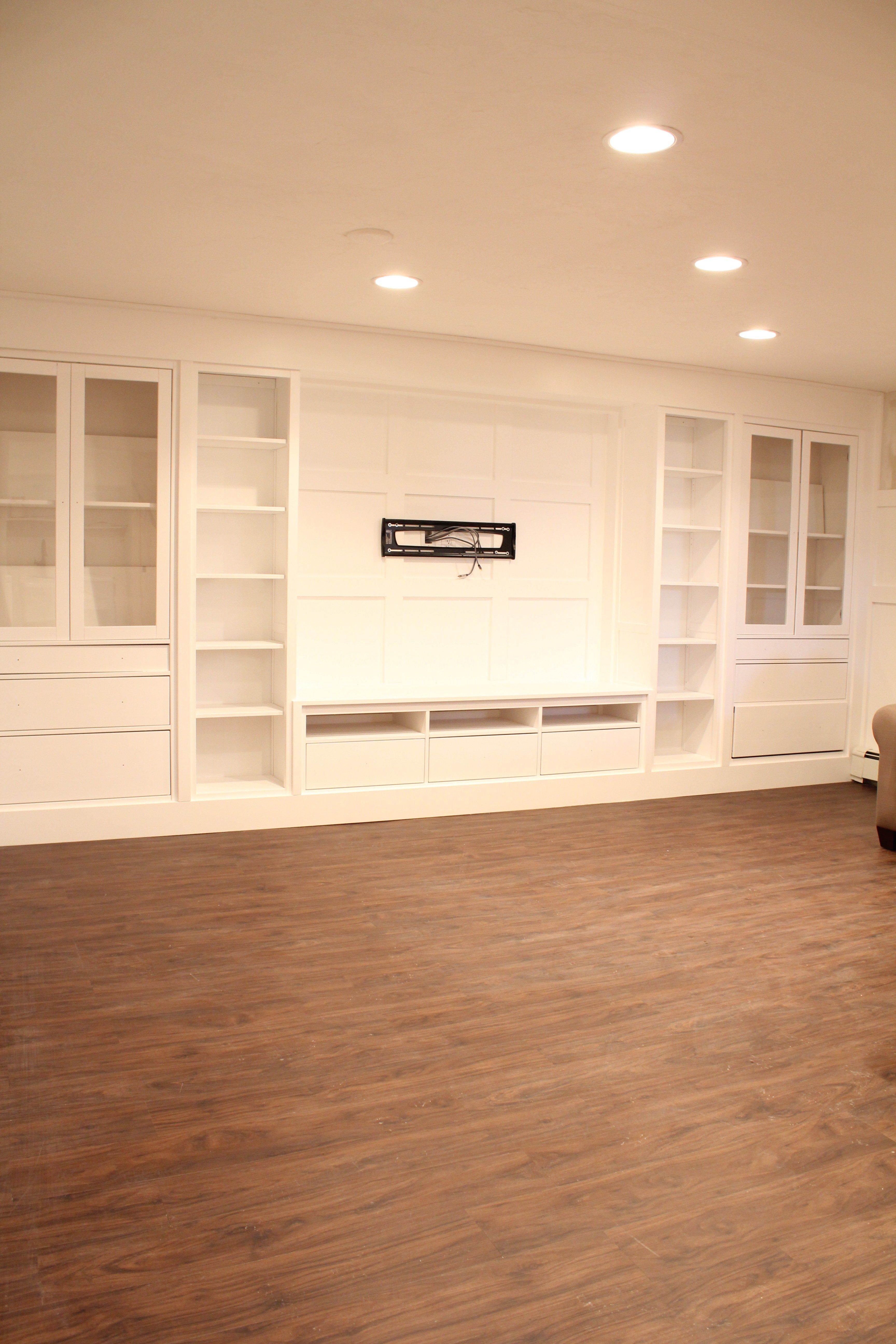 vinyl plank flooring home house re do basement house family room walls basement floor. Black Bedroom Furniture Sets. Home Design Ideas