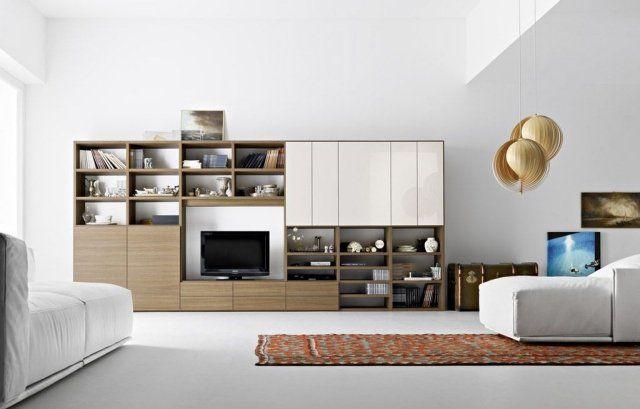 meuble tv moderne 30 designs uniques et conseils pratiques - Meuble Tv Living