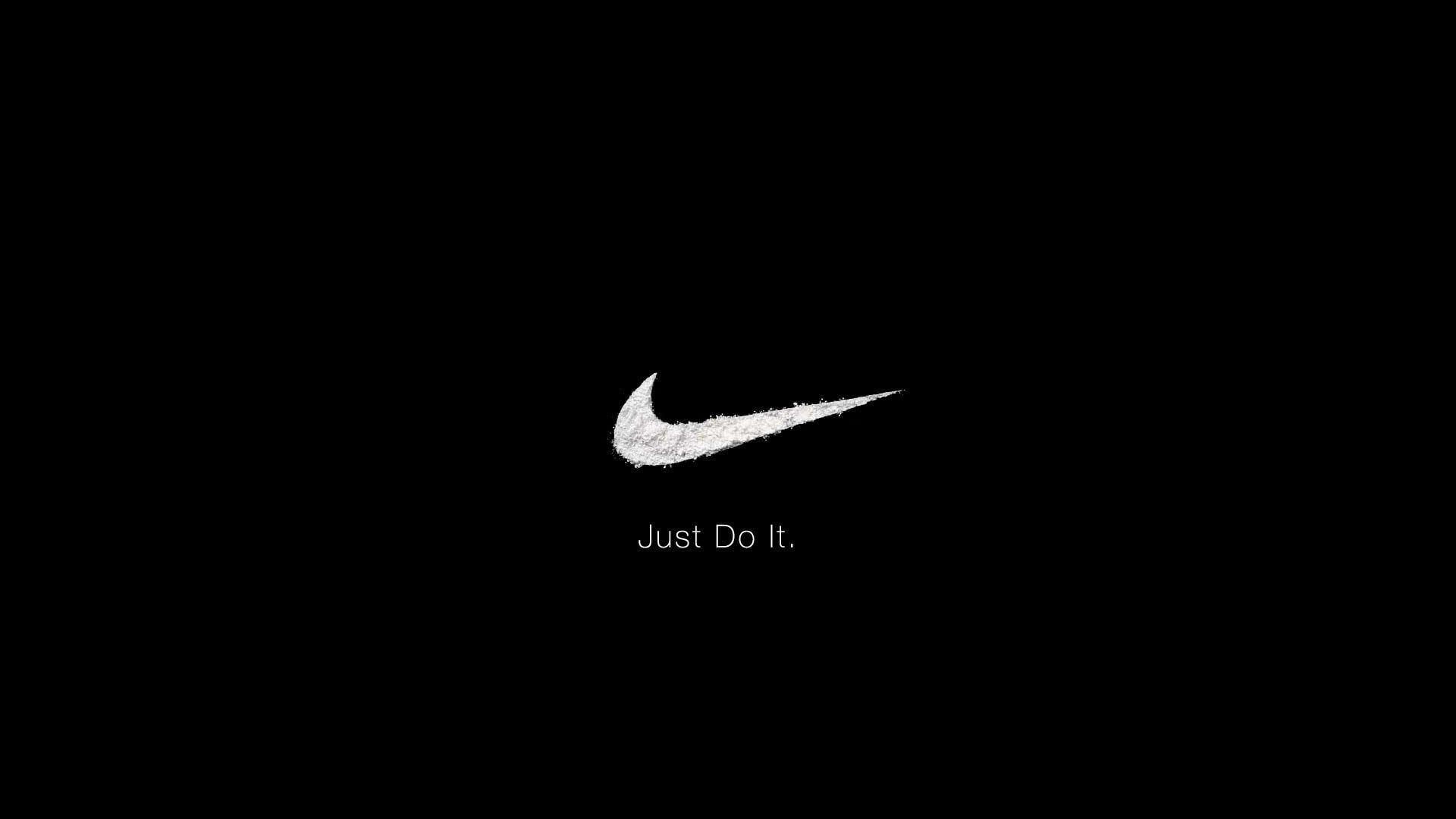 Nike Logo Nike Just Do It Slogan 1080p Wallpaper Hdwallpaper Desktop In 2020 Nike Logo Wallpapers Logo Wallpaper Hd Nike Wallpaper