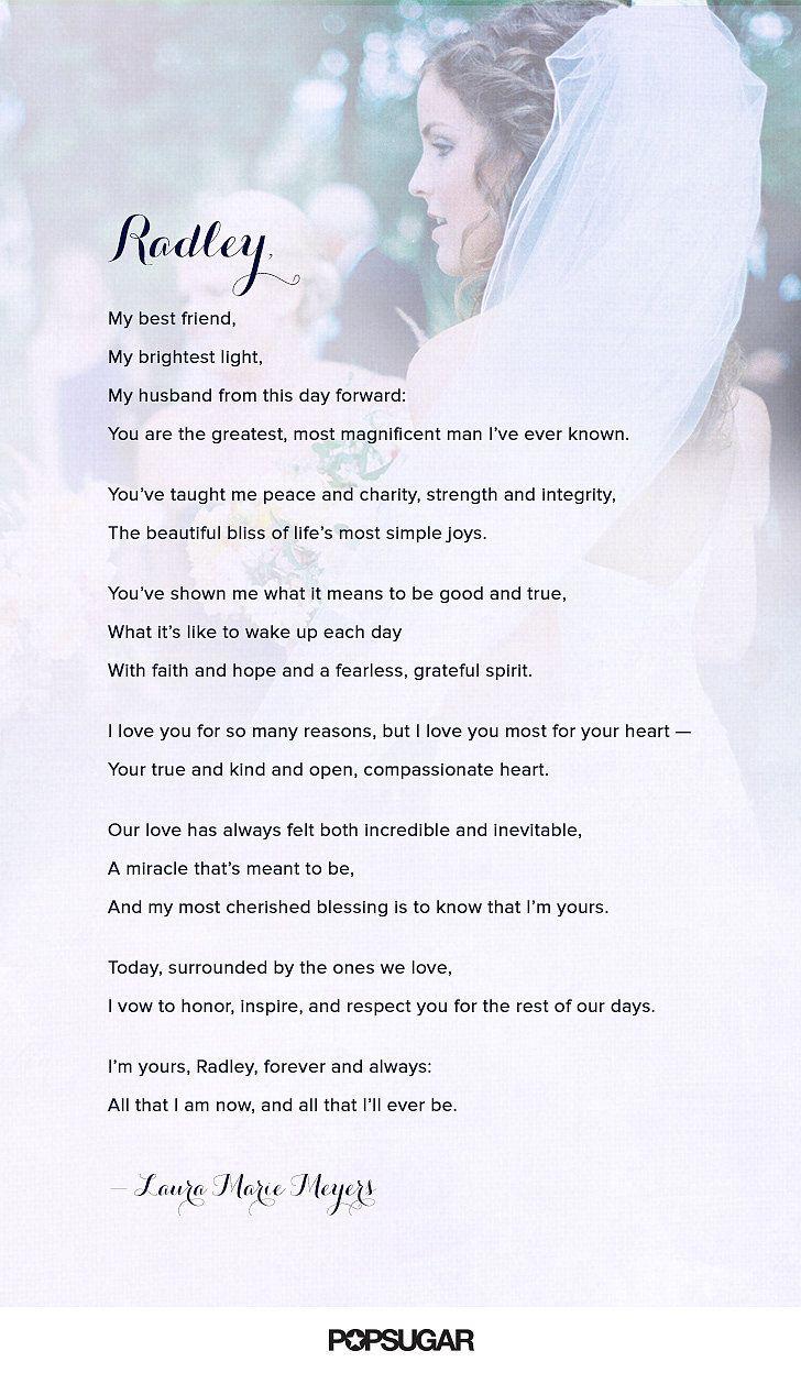 The Heartfelt Reason You Should Write Your Own Wedding