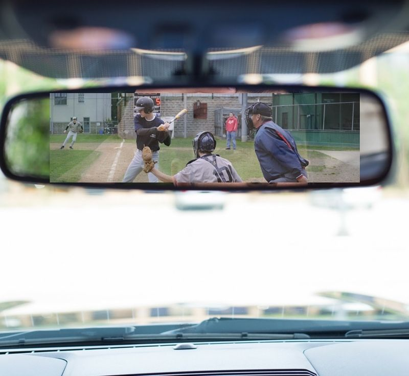 Coaching from the rearview mirror is a phrase I use to describe when a coach yells at a player for something he did wrong...but the coach may be at fault.