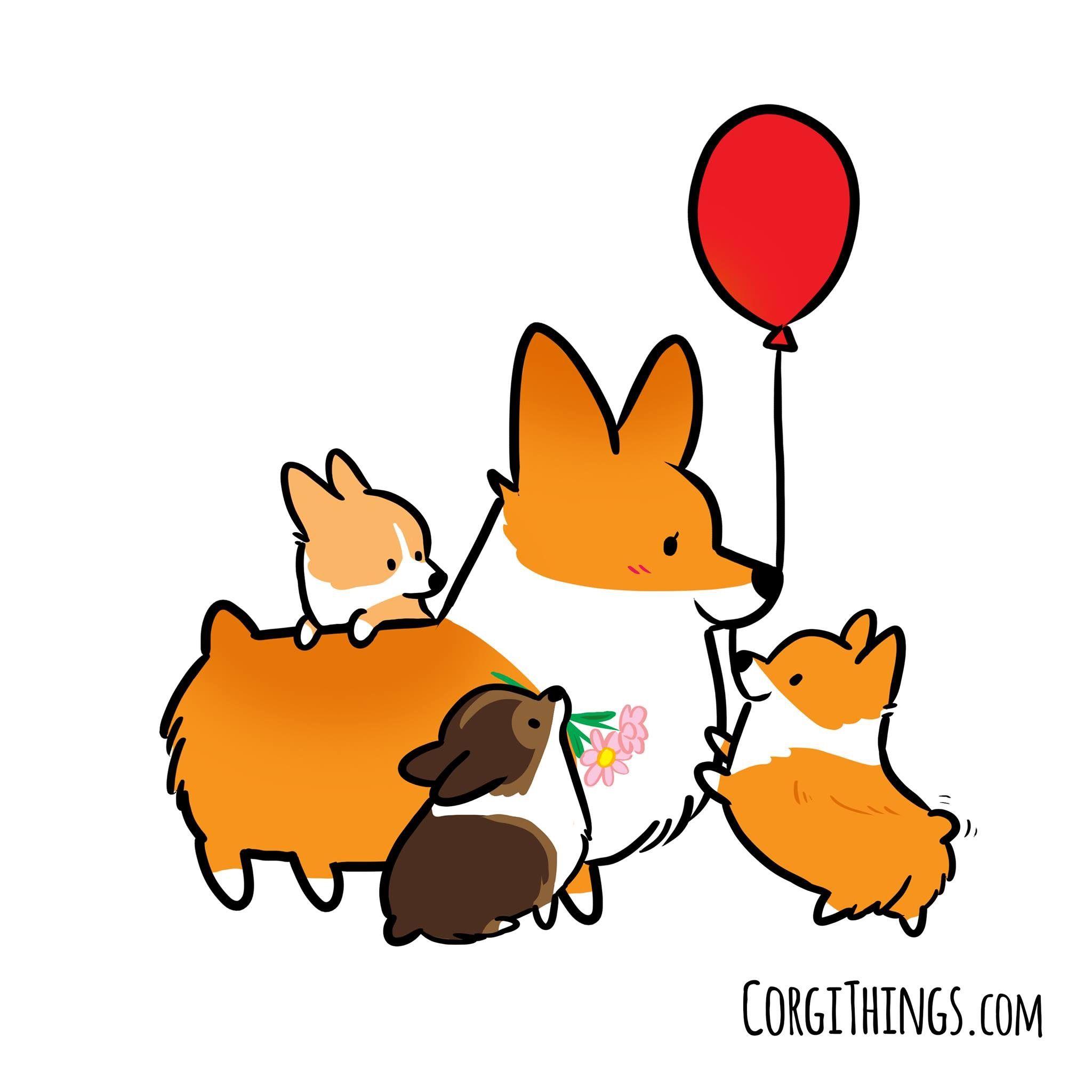 Cute animal drawings | Corgi drawing, Cute animal drawings ... (2048 x 2048 Pixel)