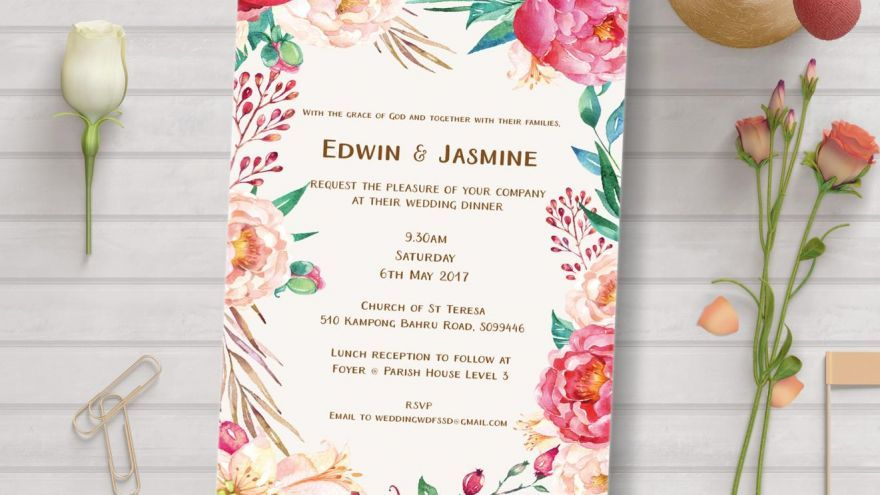 wedding invitation wording samples  tips  wedding