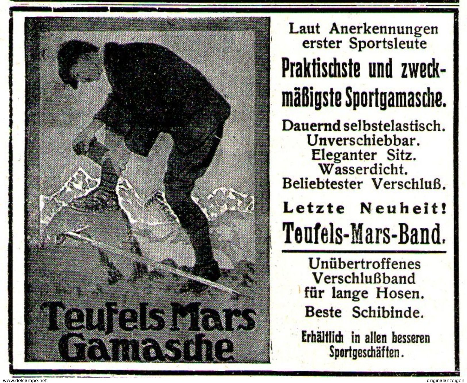 Original Werbung Anzeige 1915 DER NEUDEUTSCHE SCHUH