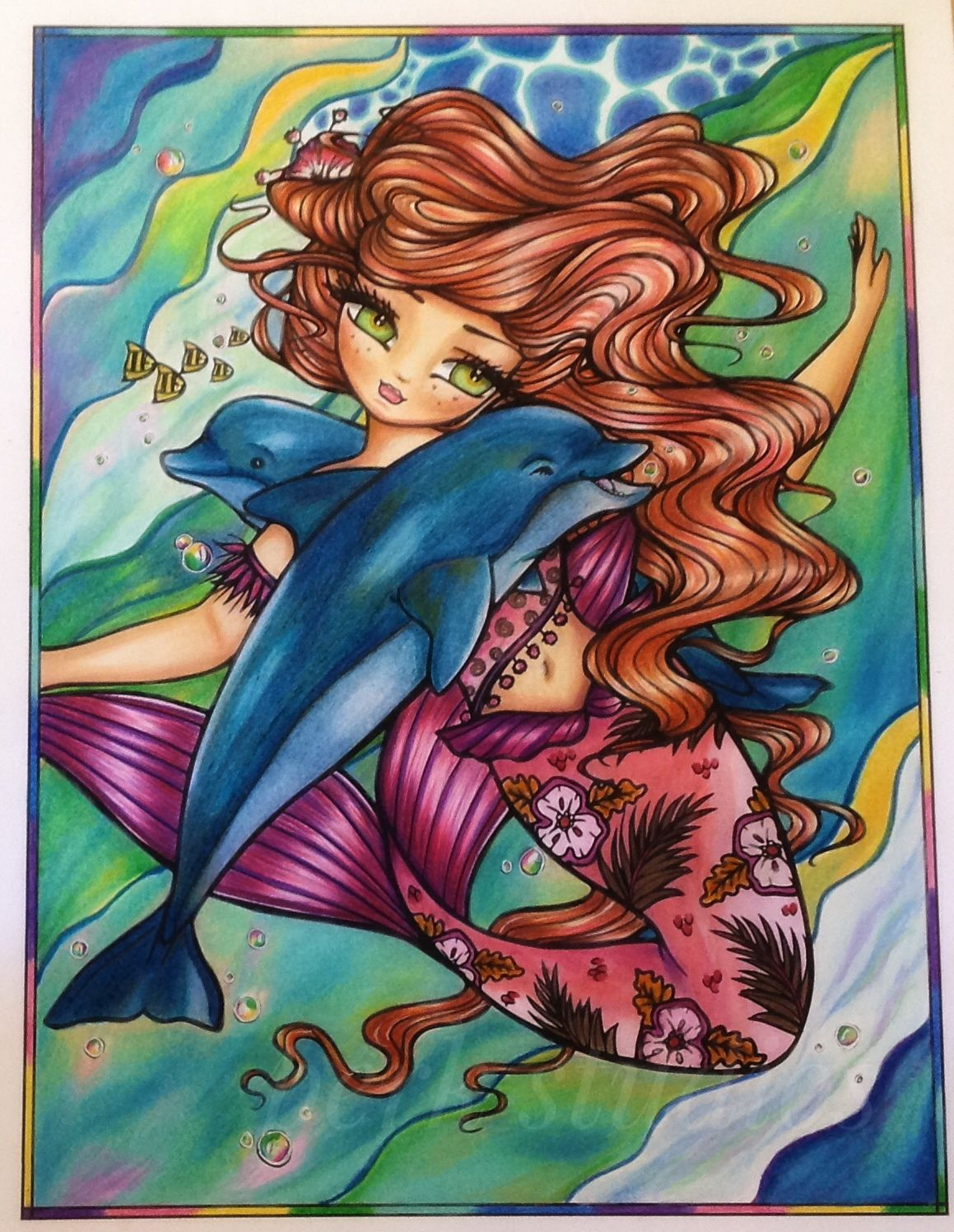 ANDERSEN Fairy Tales Coloring Pages - The Little Mermaid Tale ... | 1496x1159